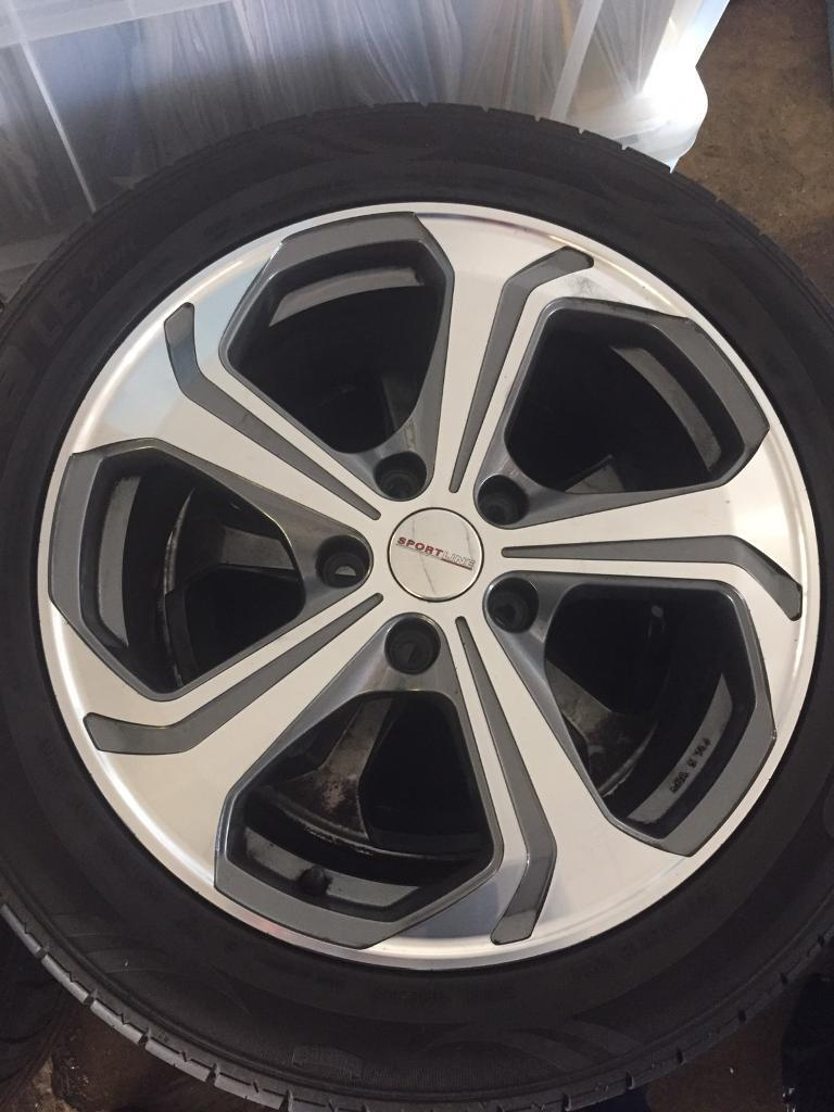 Genuine VW transporter T6 sportline alloy wheels | in ...