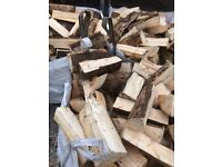 Firewood logs kindling