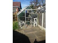 Greenhouse approx 6ft x 9ft