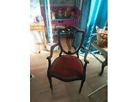 Beautiful carver chair