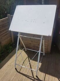 MAKE AN OFFER! Artist drawing/painting table. work station/craft station. Adjustible. Collection,N12