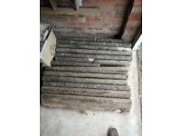 12 Concrete Garden Edging Blocks