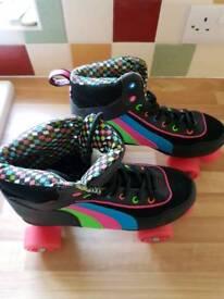 Girls Rio Roller Quad Skate UK size 6 EUR 39.5