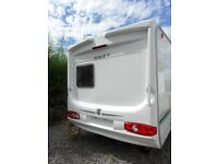 Swift Challenger 460 (2004) with Motor Mover fitted.
