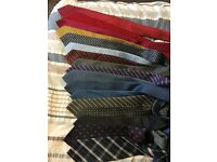 Multi Pack - 17x Formal Mens Next Ties - Excellent Condition - Most Never Worn - Silk/Polyester - £2