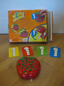 WIGGLY WORMS GAME - IMMACULATE CONDITION - £35 on Ebay / £13 on Amazon for used game NOW REDUCED!