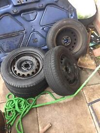 Renault clio 2002 steel wheels