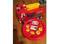 Fireman Sam Steer and Drive in excellent condition