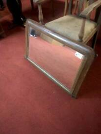 Large vintage over mantle mirror tcl 15486