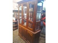 Dining room cabinet display case