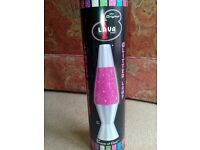 Lava Lamp - Pink Glitter (never used)