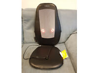Homedics Shiatsu Heated Chair Back Massager