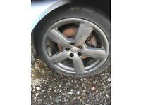 Audi 18inch alloys.