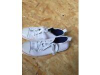 Redfish white shoes size 9