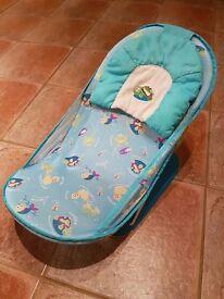 Delux Baby Bath Bather - Blue Splish Splash