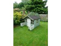 Beautiful garden Wendy house, play house