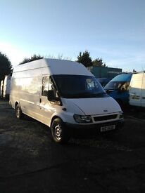 03 Transit jumbo full psv very clean