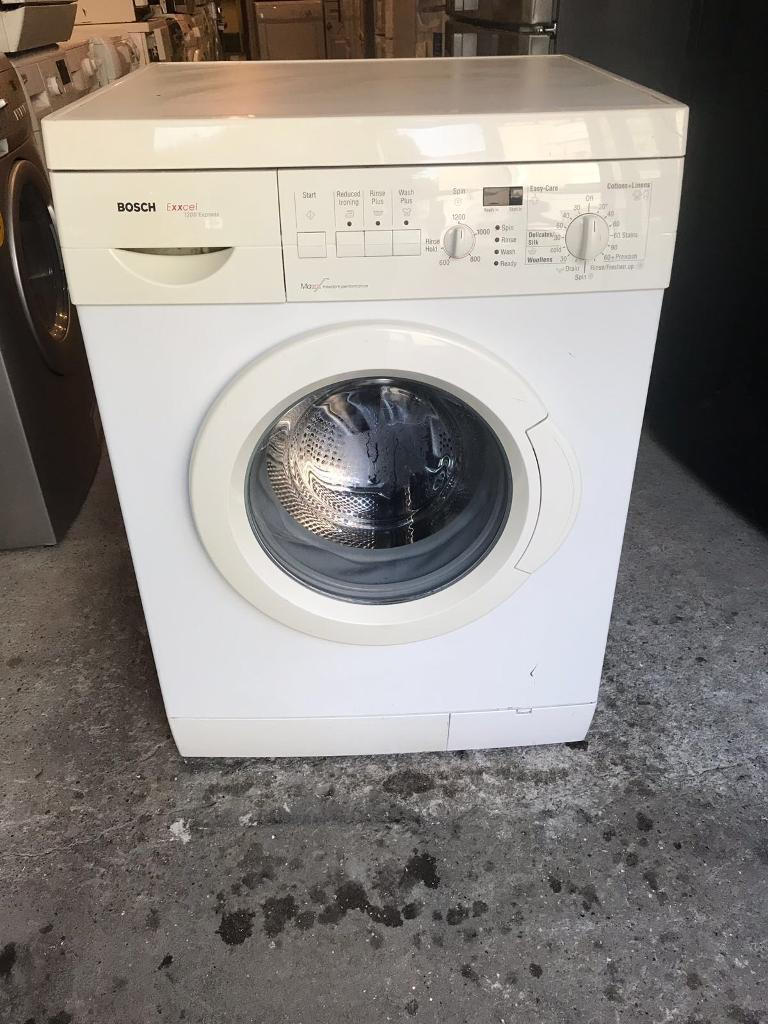 Bosch Exxcel 1200 Express Digital Washing Machine With Free Delivery 🚚