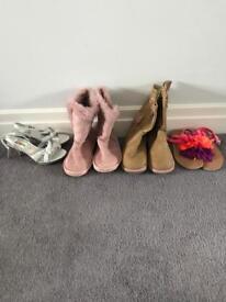 Girls Shoe Bundle Size 12