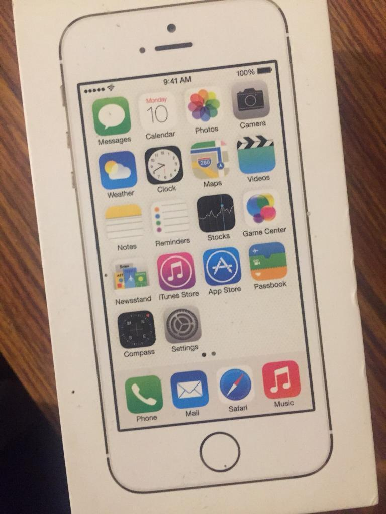 iPhone 5s box only  32ce49e8d0