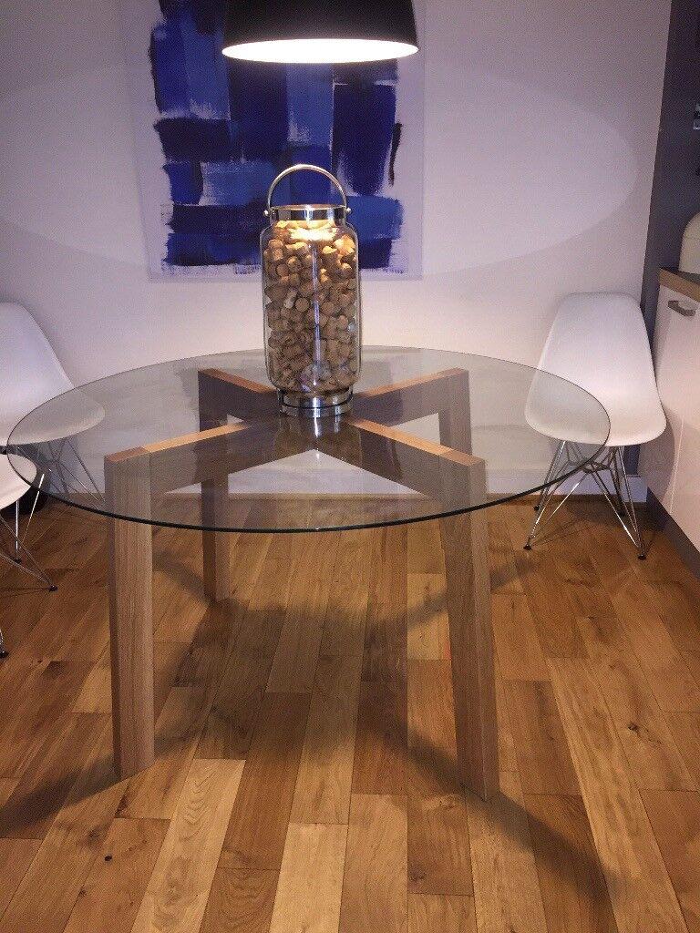 Bespoke Handmade American White Oak Dining Table