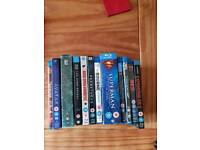 Blu rays selection hardly viewed