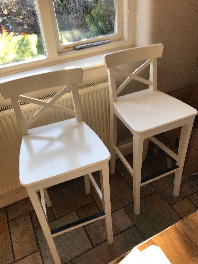 Tall chairs bar stools with backs in didsbury manchester gumtree
