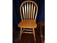 Dining / Kitchen CHAIR - solid wood / pine