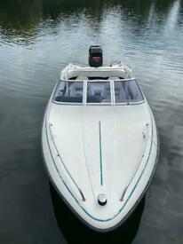 Fletcher Arrowflash 15ft speed boat