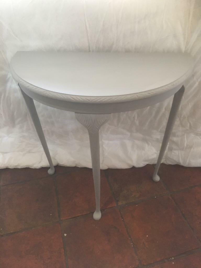 Up cycled hall table