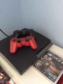 PS3 with two controllers