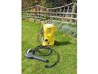 Karcher K2 pressure washer, with lance. Spares or repair.