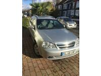 Chevrolet lacetti estate, auto low mileage