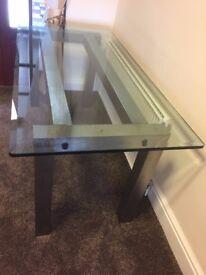 Designer Glass Table - Only £30