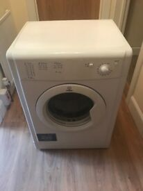 Nearly new Indesit free standing vented tumble dryer