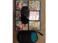 Ps vita excellent condition not used much at all comes with games charger and carry case.