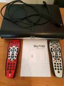 Sky+ hd box. 500 storage