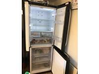Hotpoint fridge freezer black