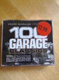 100 Garage classics. Box set of 4 cds, £1.50