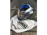 Shoei Motorcycle Helmet with original bag