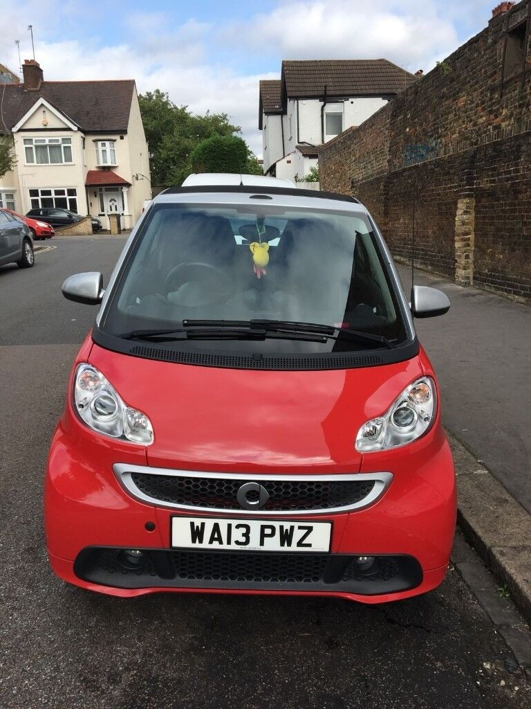 Smart Car For 2 2013 Red Convertible Quick Sale Wanted 4300 Ono