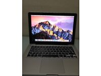 APPLE MACBOOK PRO 13.3 INCH CORE I5(2.5GHZ SPEED) LAPTOP(EXCELLENT CONDITION)
