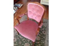 Repro bedroom chair
