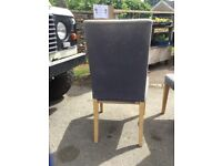 6 IKEA chairs for upholstery project as NO FIRE CERTIFICATE