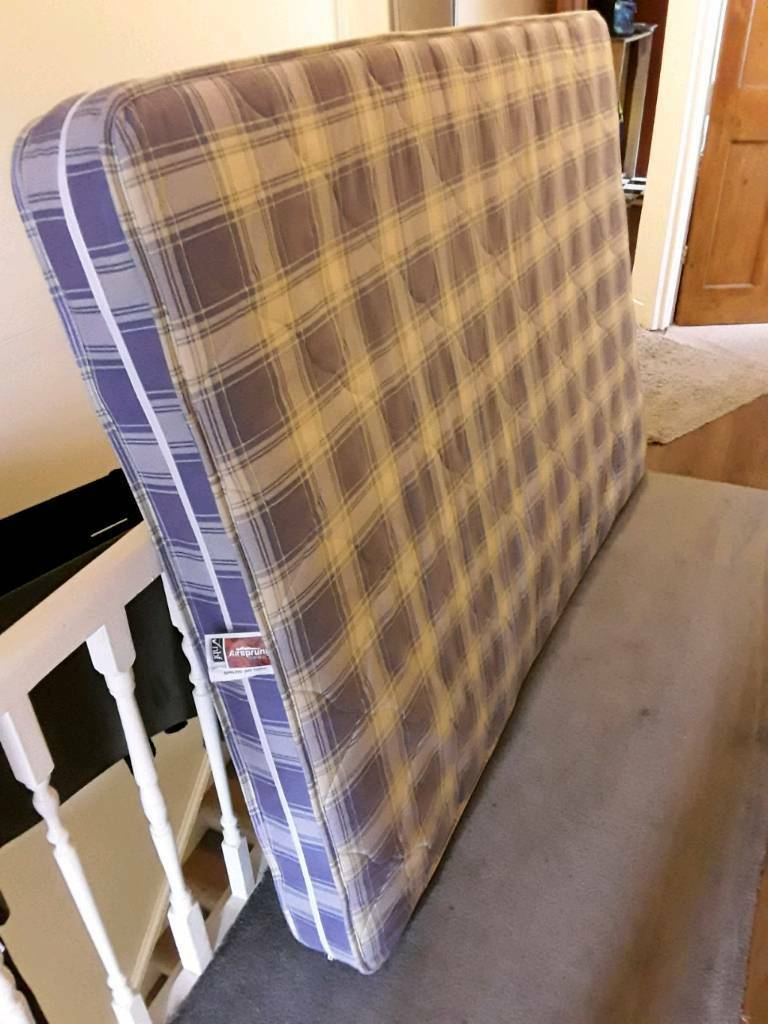 Free double spring mattress to collect near Colliers wood