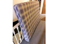 Free double spring mattress to collect in Colliers wood