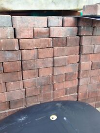 Block paving bricks , 2 pallets, brindle