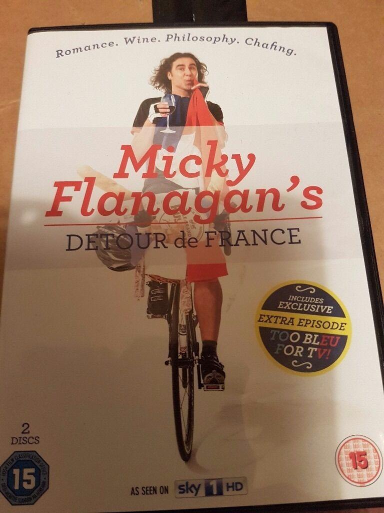 Micky Flanaghan's Detour de France DVD