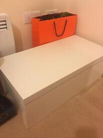 Side table/ storage/coffee table for sale