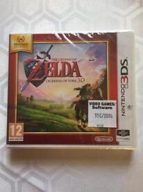 Legend of Zelda 3DS unopened